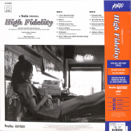 Back View : Various Artists - HIGH FIDELITY O.S.T. (180G LP) - Mondo / MOND163