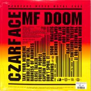 Back View : Czarface & MF Doom - CZARFACE MEETS METAL FACE (LP) - Silver Age / SIL003LP