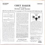 Back View : Chet Baker - CHET BAKER PLAYS THE BEST OF LERNER AND LÖWE (LP) (LP) - Concord Records / 7219756