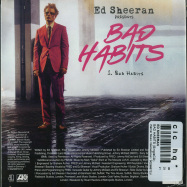 Back View : Ed Sheeran - BAD HABITS (MAXI-CD) - Warner Music International / 9029667331