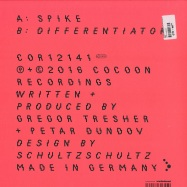 Back View : Gregor Tresher & Petar Dundov - SPIKE - Cocoon / COR12141