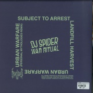 Back View : DJ Spider - WAR RITUAL (PERSONAL MYTHOLOGIES REMIX) - Hooded Records / HOODED002
