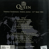 Back View : Queen - GREATEST HITS IN CONCERT (LTD WHITE LP) - Coda / CPLVNY336