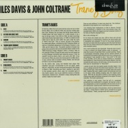 Back View : Miles Davis & John Coltrane - TRANES BLUES (LP) - Dreyfus Jazz / 538423341 / 8749704