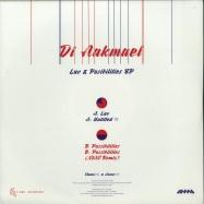 Back View : DJ Aakmael - LOVE & POSSIBILITIES - Flumo Limited / FLTD014