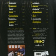 Back View : Various Artists - DIE STEREO HOERTEST LP VOL. 3 (180G 2LP) - In-Akustik / INAK 79341 2LP / 9041135