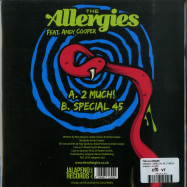 Back View : The Allergies - 2 MUCH! / SPECIAL 45 (7 INCH) - Jalapeno / JAL306V
