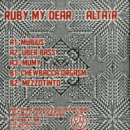Back View : Ruby My Dear - ALTAIR (WHITE VINYL) - Love Love Records / LOVWAX10