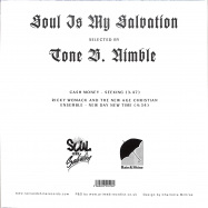 Back View : Tone B. Nimble - SOUL IS MY SALVATION CHAPTER 4 (7 INCH) - Rain&Shine / RSRSIMS004