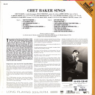 Back View : Chet Baker - SINGS (180G LP + CD) - Groove Replica / 01277021