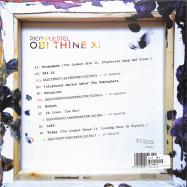 Back View : Rico Puestel - OBI THINE XI (DELUXE VINYL EDITION)(COLOURED VINYL) - Exhibition / XBITLP01
