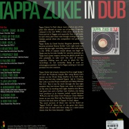Back View : Tapper Zukie - IN DUB (LP) - Jamaican Recordings / jrlp044