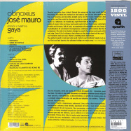 Back View : Jose Mauro - OBNOXIUS (LP, 180 G VINYL) (2021 REPRESS) - FAR OUT RECORDINGS / FARO191LP