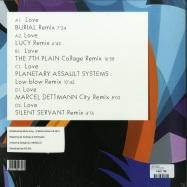 Back View : Luke Slater - LOVE REMIXES (2LP + DL) - Mote Evolver / MOTELP05