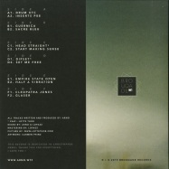 Back View : ARNO - WE PERFECTLY UNDERSTAND EACH OTHER UNTIL WE START TO TALK (3X12 INCH) - Brouqade / BQD047