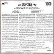 Back View : Grant Green - BORN TO BE BLUE (180G LP) - Blue Note / BST 84432 / 7786844