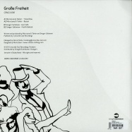 Back View : Microtune & Takter / Gregor Sultanow - GROSSE FREIHEIT - Concorde Club / conclu006
