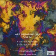Back View : Eagles & Butterflies - ART IMITATING LIFE VOL. 1 (COLOURED VINYL) - Art Imitating Life / AIL001