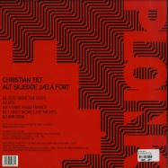 Back View : Christian Tilt - ALT SKJEDDE JAELA FORT - Ploink / PL013NK