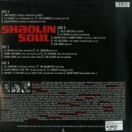 Back View : Various Artists - SHAOLIN SOUL EPISODE 1 (2X12 INCH GATEFOLD LP+CD) - Because Music / BEC5543356