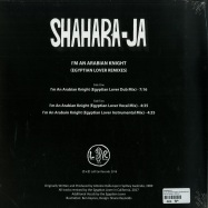 Back View : Shahara-Ja - IM AN ARABIAN KNIGHT (EGYPITIAN LOVER RMX) - Left Ear Records / LER1013