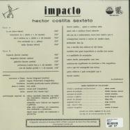 Back View : Hector Costita Sexteto - IMPACTO (LP, 180GR) - Munster Records / MRSSS 558
