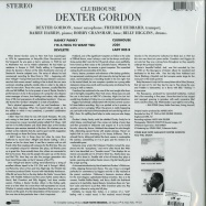 Back View : Dexter Gordon - CLUBHOUSE (180G LP) - Blue Note / 7718776