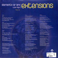 Back View : Elements of Life - ELEMENTS OF LIFE EXTENSIONS PART 2 (2x12INCH) - Vega Records / VR196