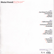 Back View : 070 Shake - MODUS VIVENDI (LTD ORANGE 2LP) - Island / 0865339