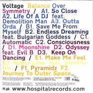 Back View : Voltage - BALANCE OVER SYMMETRY (3LP) - Hospital / NHS399LP
