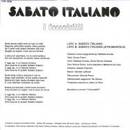 Back View : I Coccodrilli - SABATO ITALIANO (7INCH) - Futuribile / FTR1008
