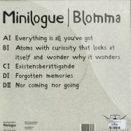 Back View : Minilogue - BLOMMA (2X12 INCH LP + CD) - Cocoon / CORLP033
