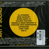 Back View : Various Artists - SOUNDS OF THE UNIVERSE: ART + SOUND (2XCD) - Soul Jazz Records  / sjrcd307