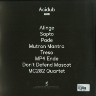Back View : TM404 - ACIDUB (2XLP) - Kontra Musik / KM044