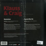 Back View : Klauss & Craig - MOMENTUM - Planet E / PLE65391-6