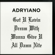 Back View : Adryiano - DREAMS WITH - Shall Not Fade / SNF026