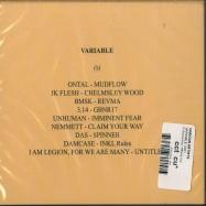 Back View : Various Artists - VARIABLE (CD) - Pi Electronics / PEVA01CD