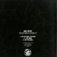 Back View : Soul Intent - THE OLD SKOOL IS SO KOOL EP (CLEAR & WHITE VINYL) - Dope Plates / DOPE008