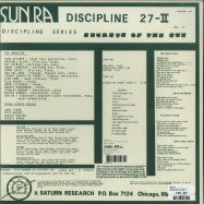 Back View : Sun Ra - DISCIPLINE 27-II (LP) - Strut Records / STRUT146LP