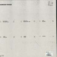 Back View : Jordan Rakei - ORIGIN (LTD CLEAR 180G LP + MP3) - Ninja Tune / ZEN256X