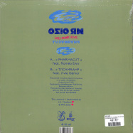 Back View : Mr. Oizo - PHARMACIST (10 INCH, SOLID NEON GREEN VINYL) - Because Music / BEC5650828