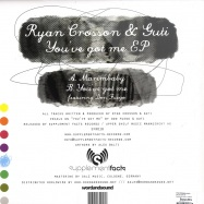 Back View : Ryan Crosson & Guti - YOU VE GOT ME - Supplement Facts / SFR018