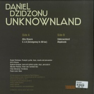Back View : Daniel Dzidzonu - UNKNOWNLAND - Zephyrus Records / ZEPLP038