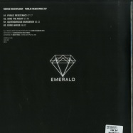 Back View : Remco Beekwilder - PUBLIC RESISTANCE EP - Emerald / EMERALD002