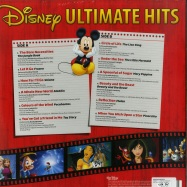 Back View : Various Artists - DISNEY ULTIMATE HITS (LP) - Walt Disney Records / 8739867