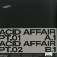 Back View : Regal & Alien Rain - ACID AFFAIR EP - Involve Records / inv024