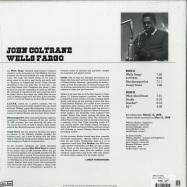 Back View : John Coltrane - WELLS FARGO (LP) - Wax Love / WLV82127 / 00133738