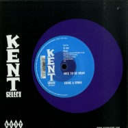 Back View : Eddie & Ernie - INDICATION / NICE TO BE NEAR (7 INCH) - Kent Select / CITY058