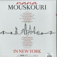 Back View : Nana Mouskouri - NANA MOUSKOURI IN NEW YORK (LP) - Zyx Music / ZYX 21175-1