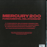 Back View : Mercury 200 - FUNDAMENTAL RELATIONSHIP - Bipolar Disorder / BD004